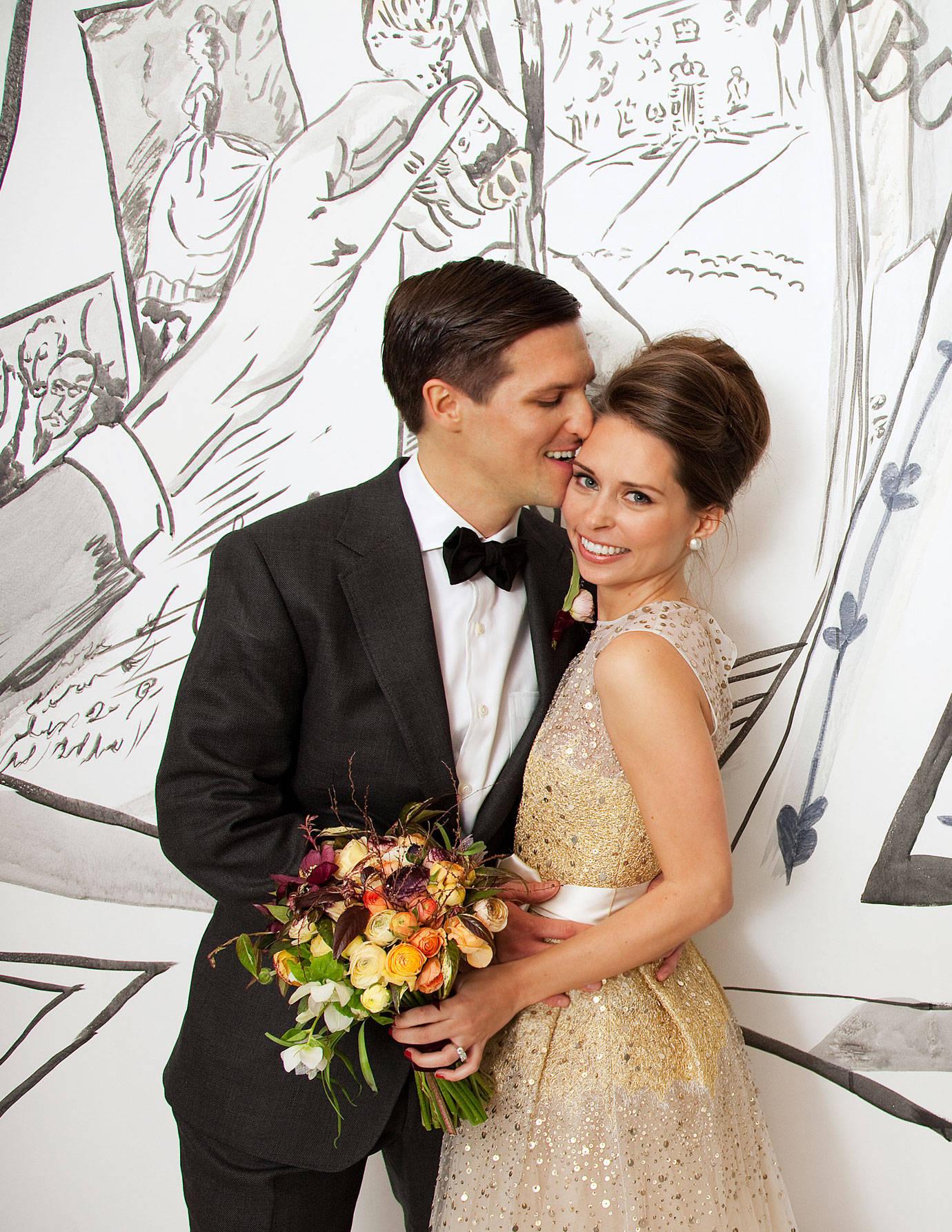 annie dean amp peter zaitzeff wedding dean marries