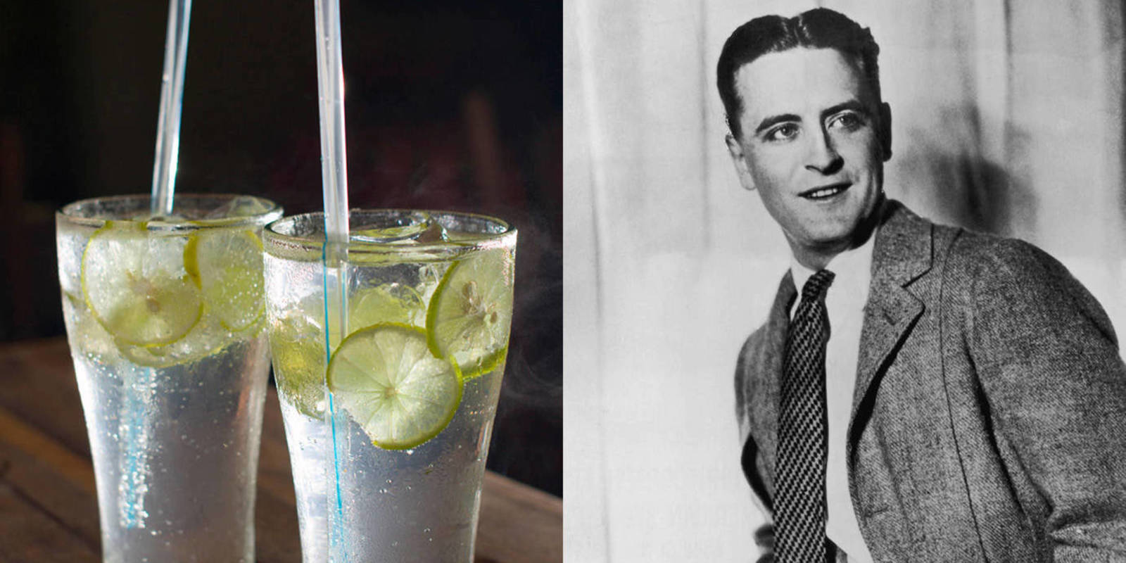 Gin Rickey Recipe - F. Scott Fitzgerald Gin Rickey Recipe