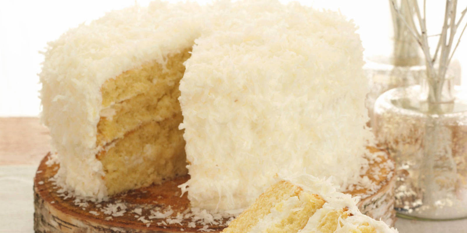 Coconut Cake Recipe - Coconut Cake