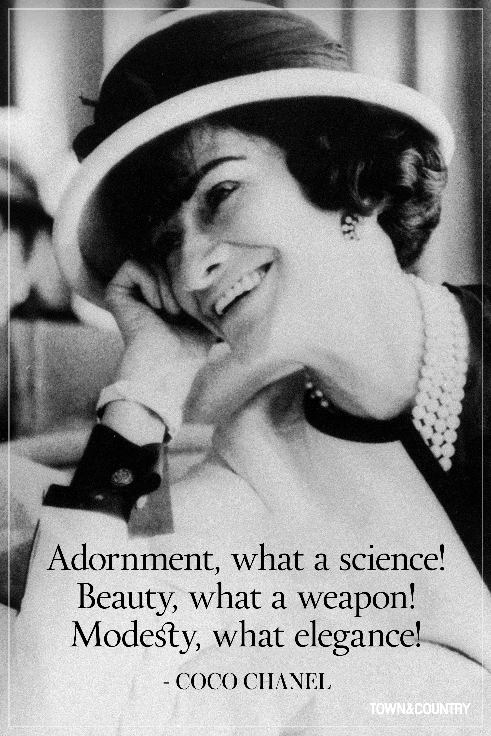 14 coco chanel quotes every woman should live by. Black Bedroom Furniture Sets. Home Design Ideas