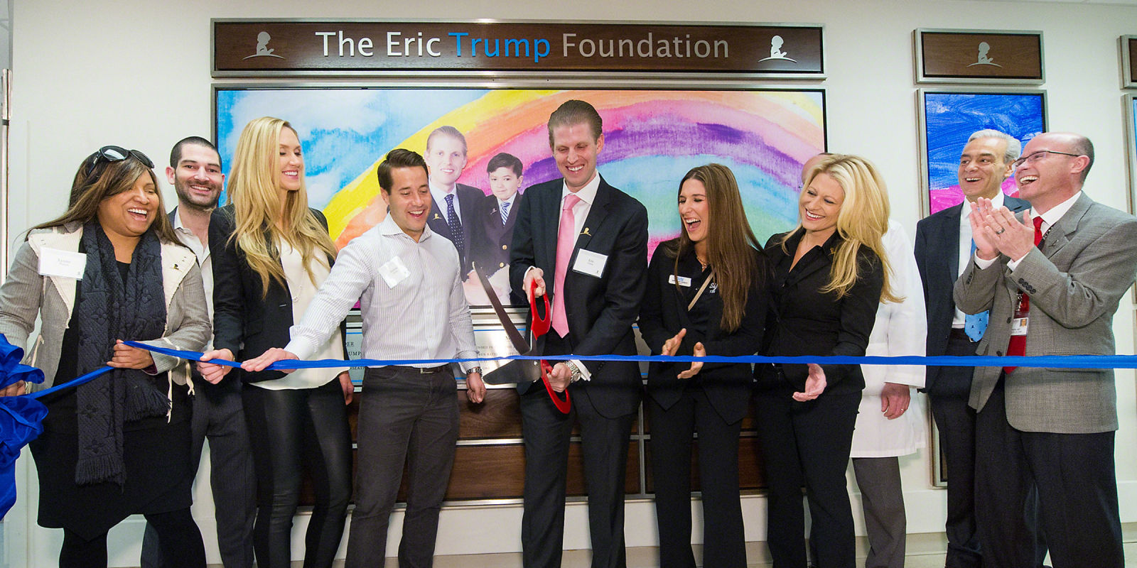 St Jude Heritage >> Eric Trump Opens A Landmark Surgical and ICU Center at St ...