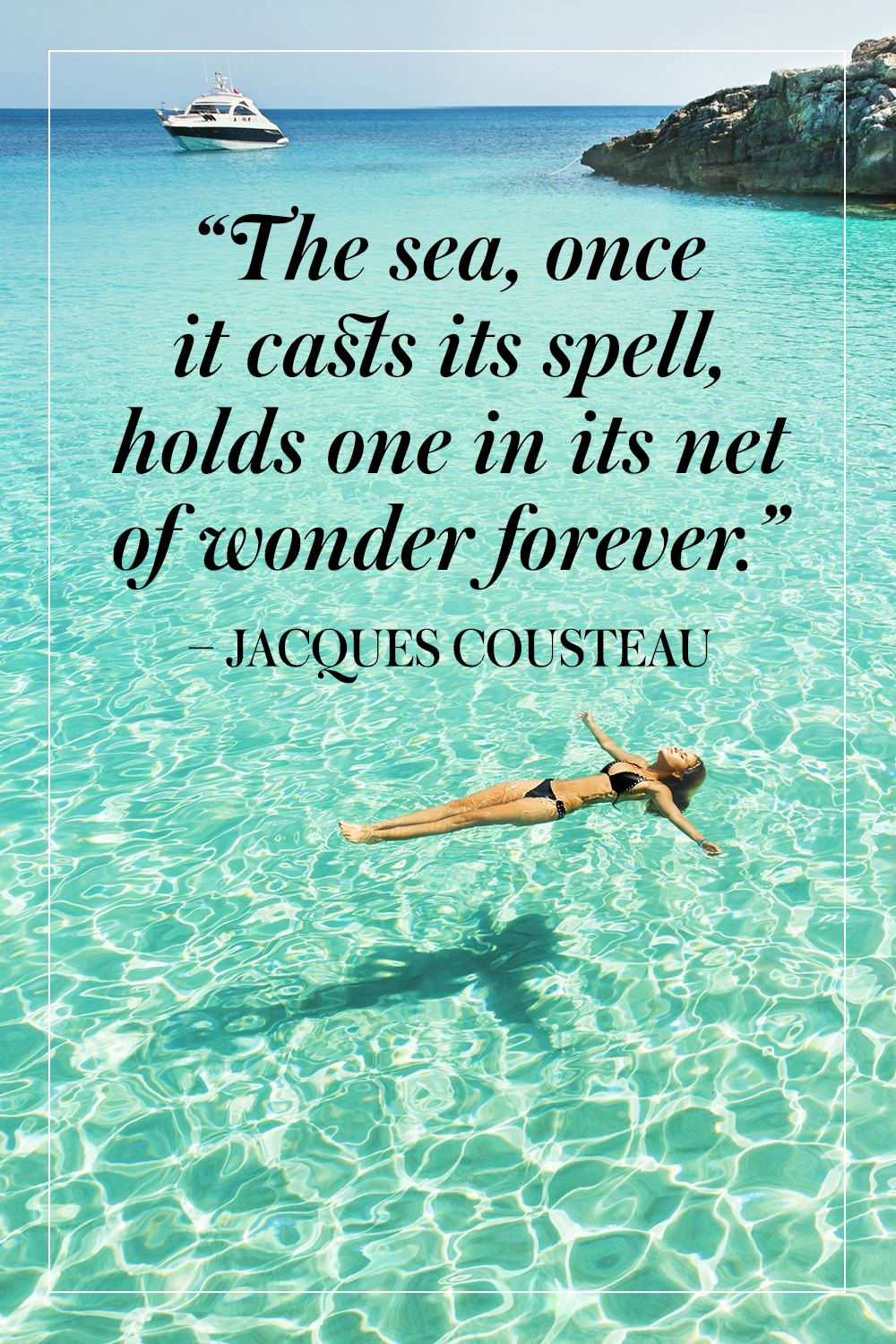 Best quotes about the ocean quotesgram for Great short vacation ideas
