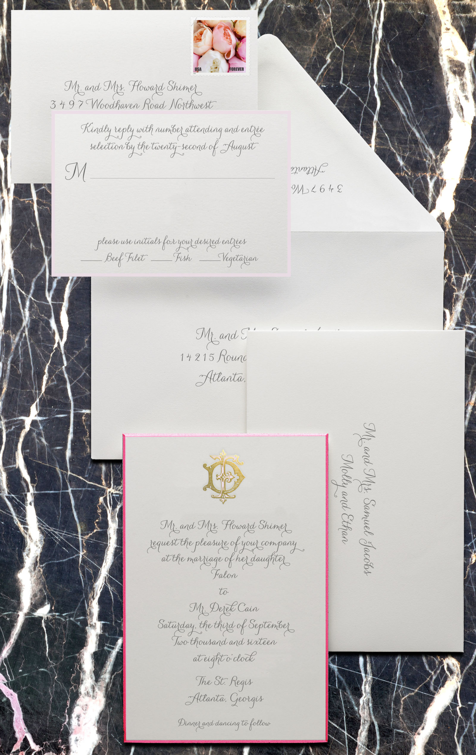 writing wedding invitations For example, you would not want to abbreviate the state on your invitation if you were writing it out on your envelope or, you would not want to write out the date on your.
