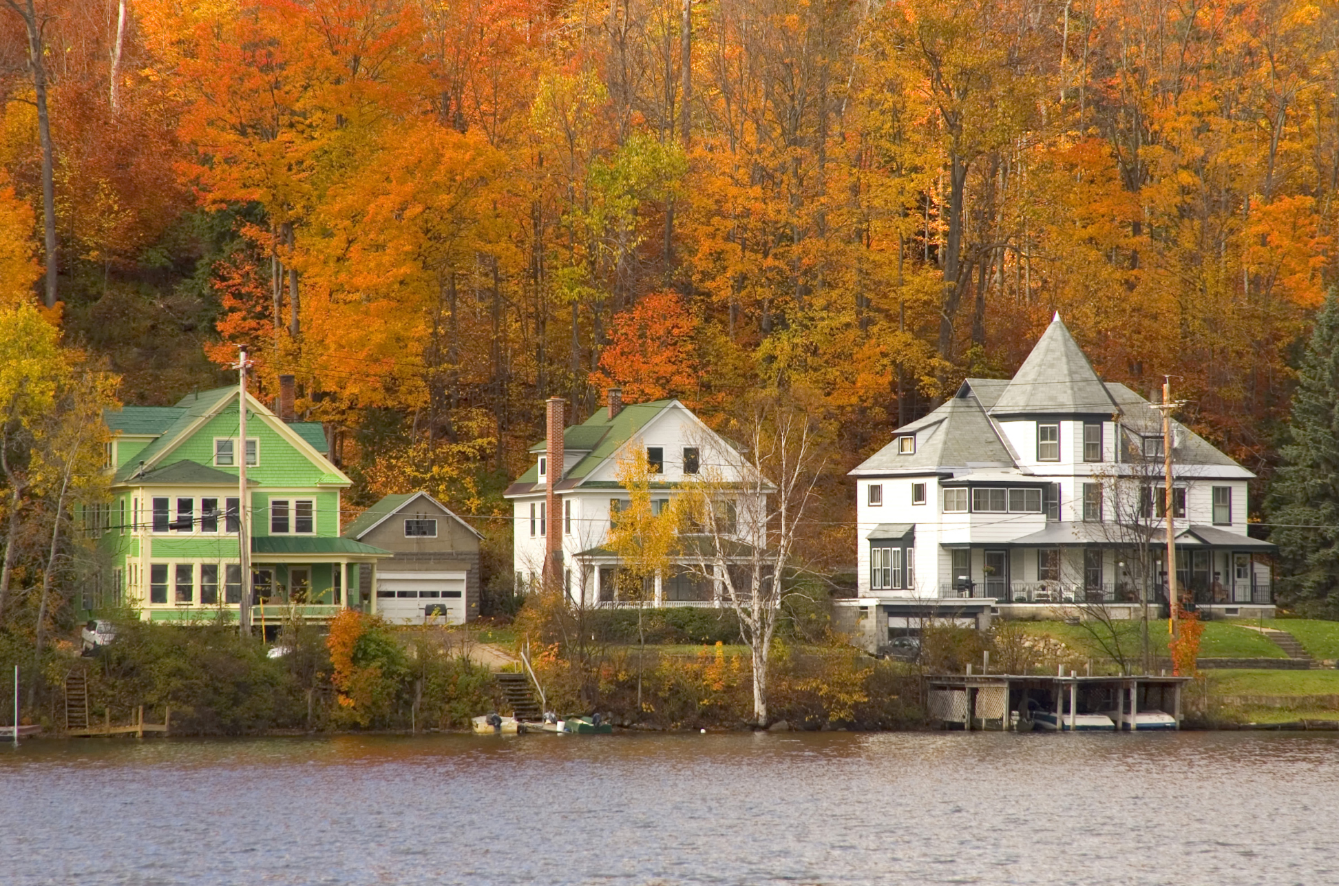 50 small towns across america with the most beautiful fall Best villages in america