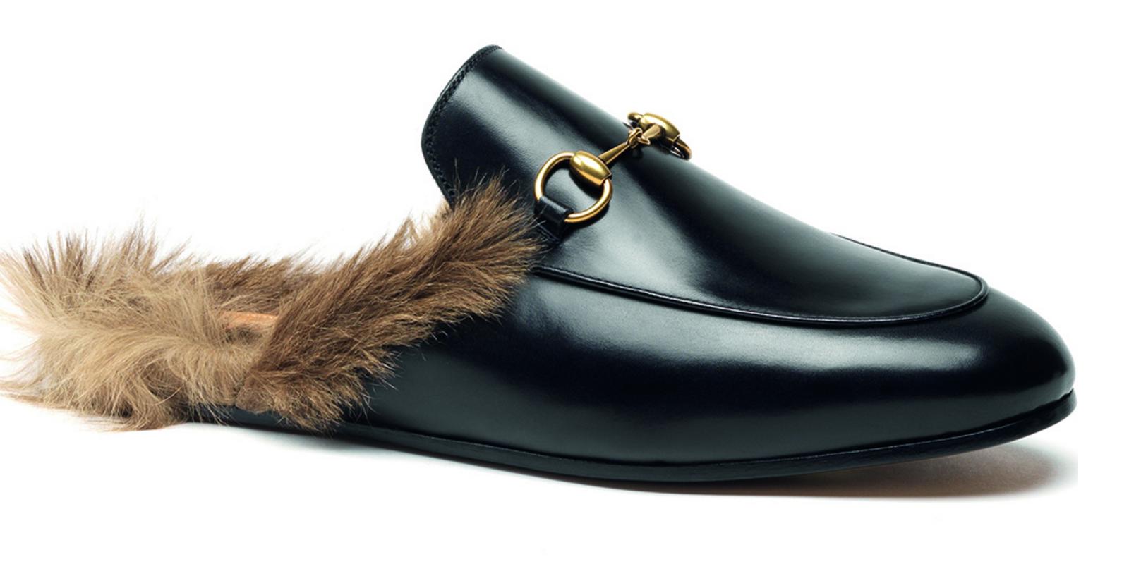 Gucci Kangaroo Fur Shoe