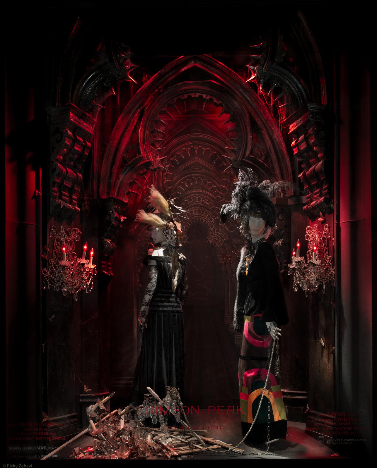Bergdorf Goodman 2015 Halloween Windows