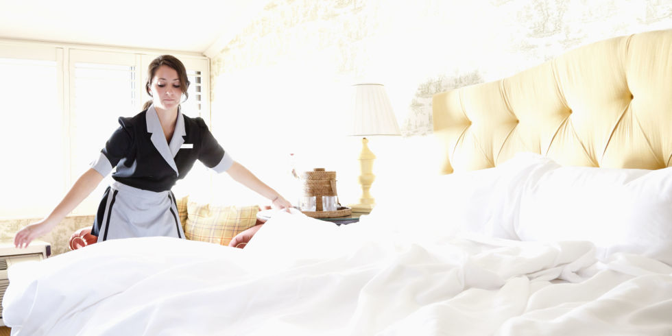 A Person Who Cleans A Hotel Room