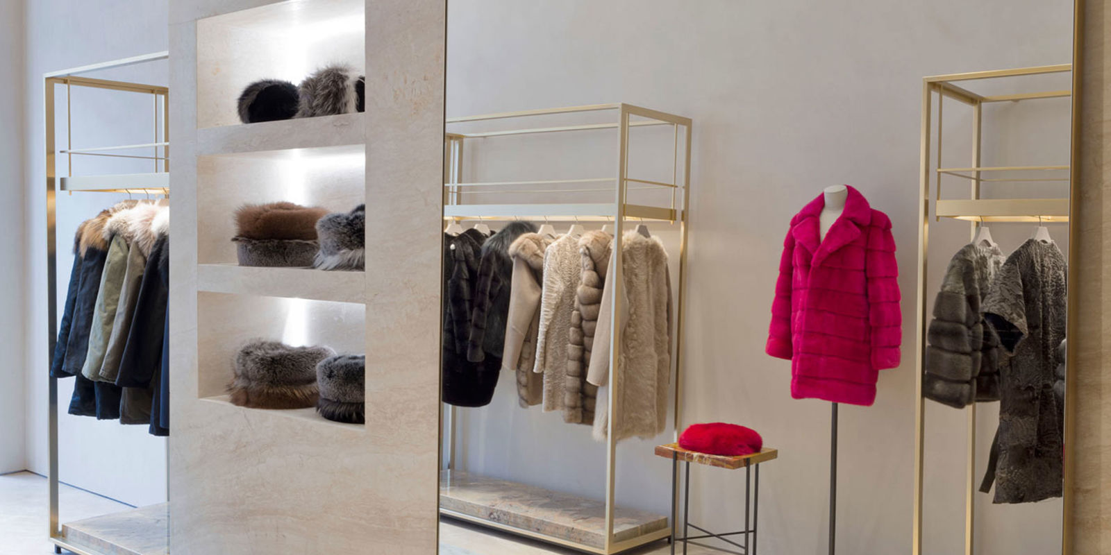 Yves salomon opened its first alpine chic boutique in new for A la mode salon new richmond wi