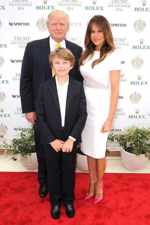 news things know barron trump youngest donalds heirs