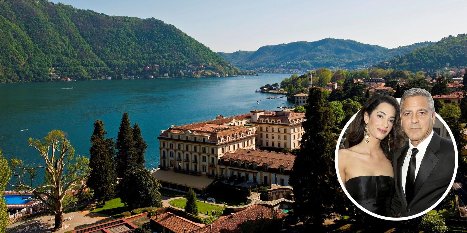 Villa d 39 este hotel review lake como italy george clooney for Villa d este como ristorante