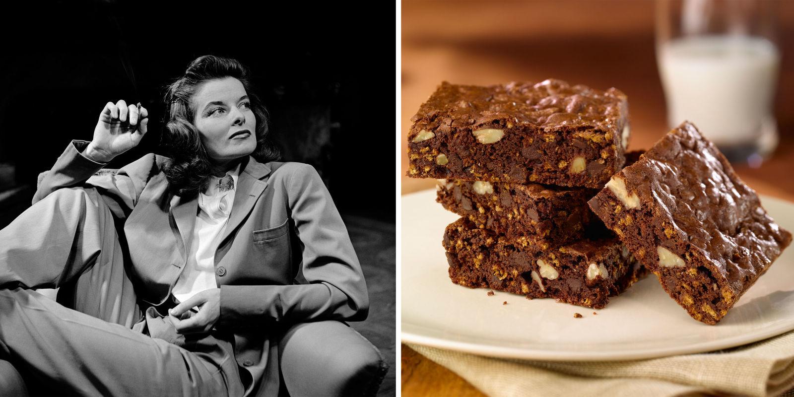 Katharine Hepburn's Brownie Recipe - How to Make Katharine ...