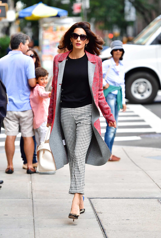 Amal Clooney Fashion Amal Alamuddin S Best Looks
