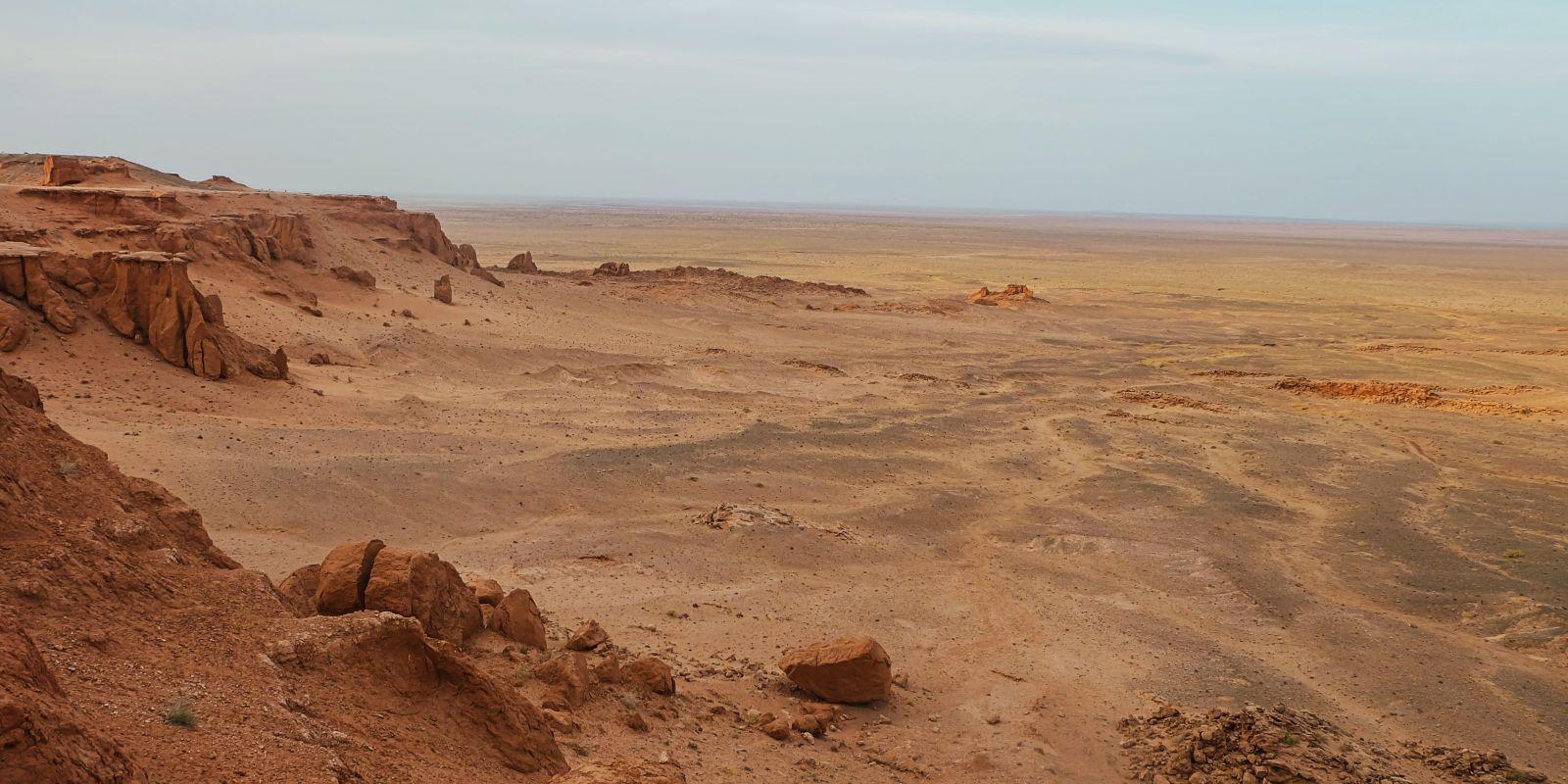 Exploring Mongolia's Gobi Desert