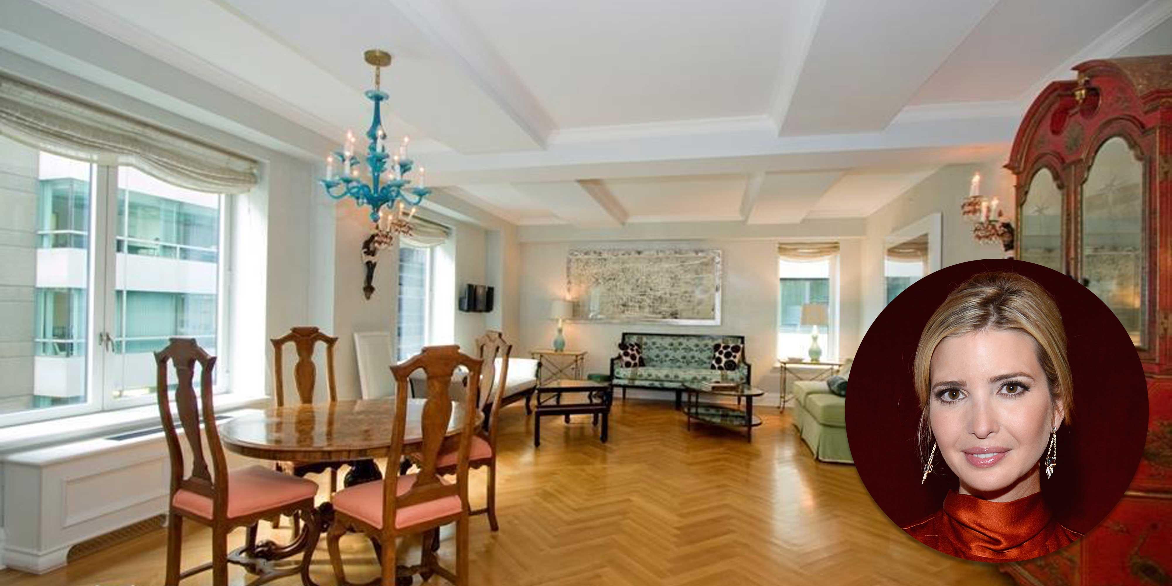 ivanka trump park avenue apartment for sale photos of. Black Bedroom Furniture Sets. Home Design Ideas