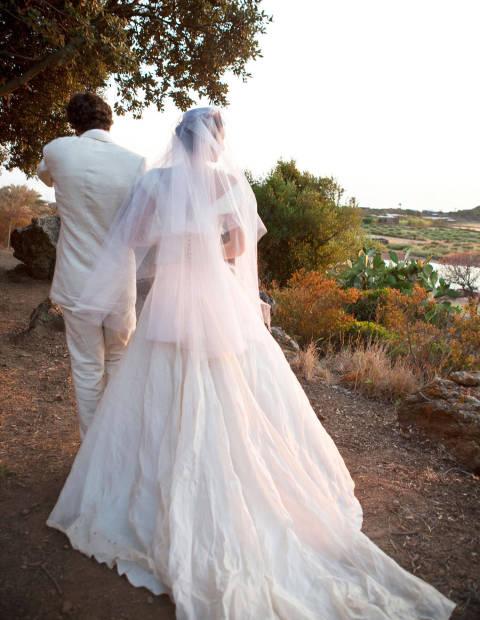 marta ferri and carlo borrmoeo wedding photos