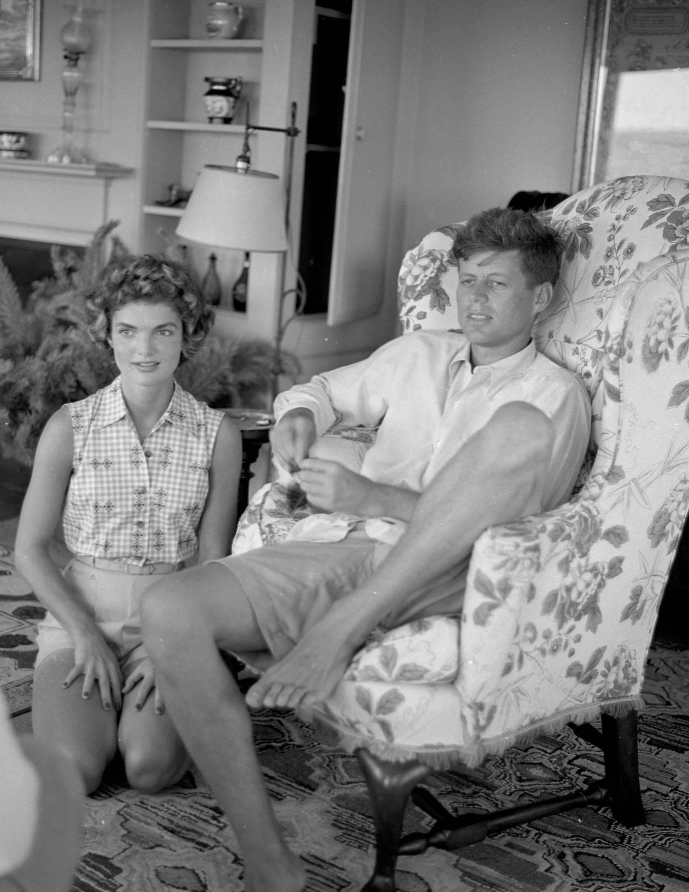 Jackie Kennedy Family: Kennedy Family Hyannis Port