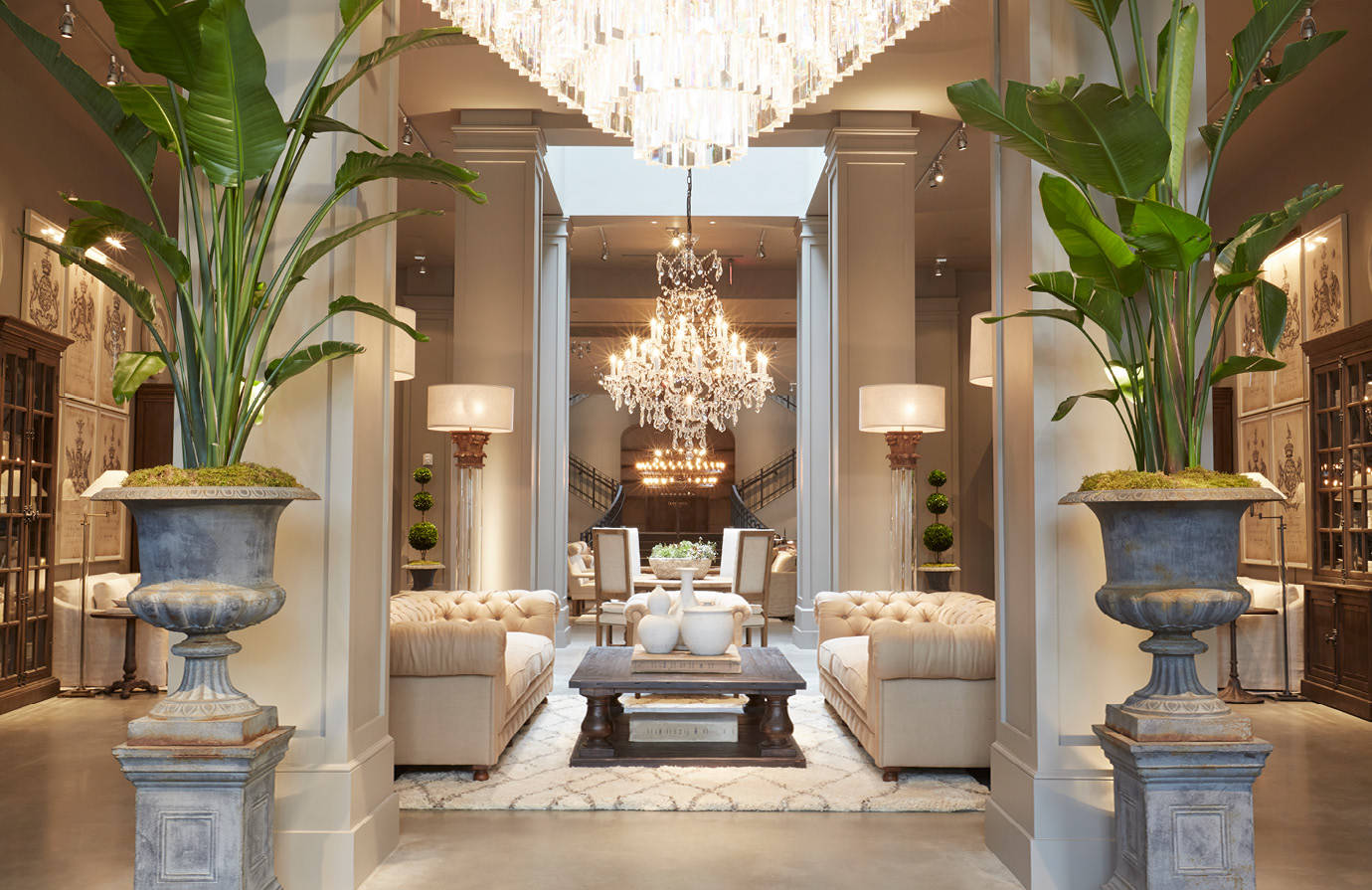 Restoration Hardware S Latest Store Delivers The Goods