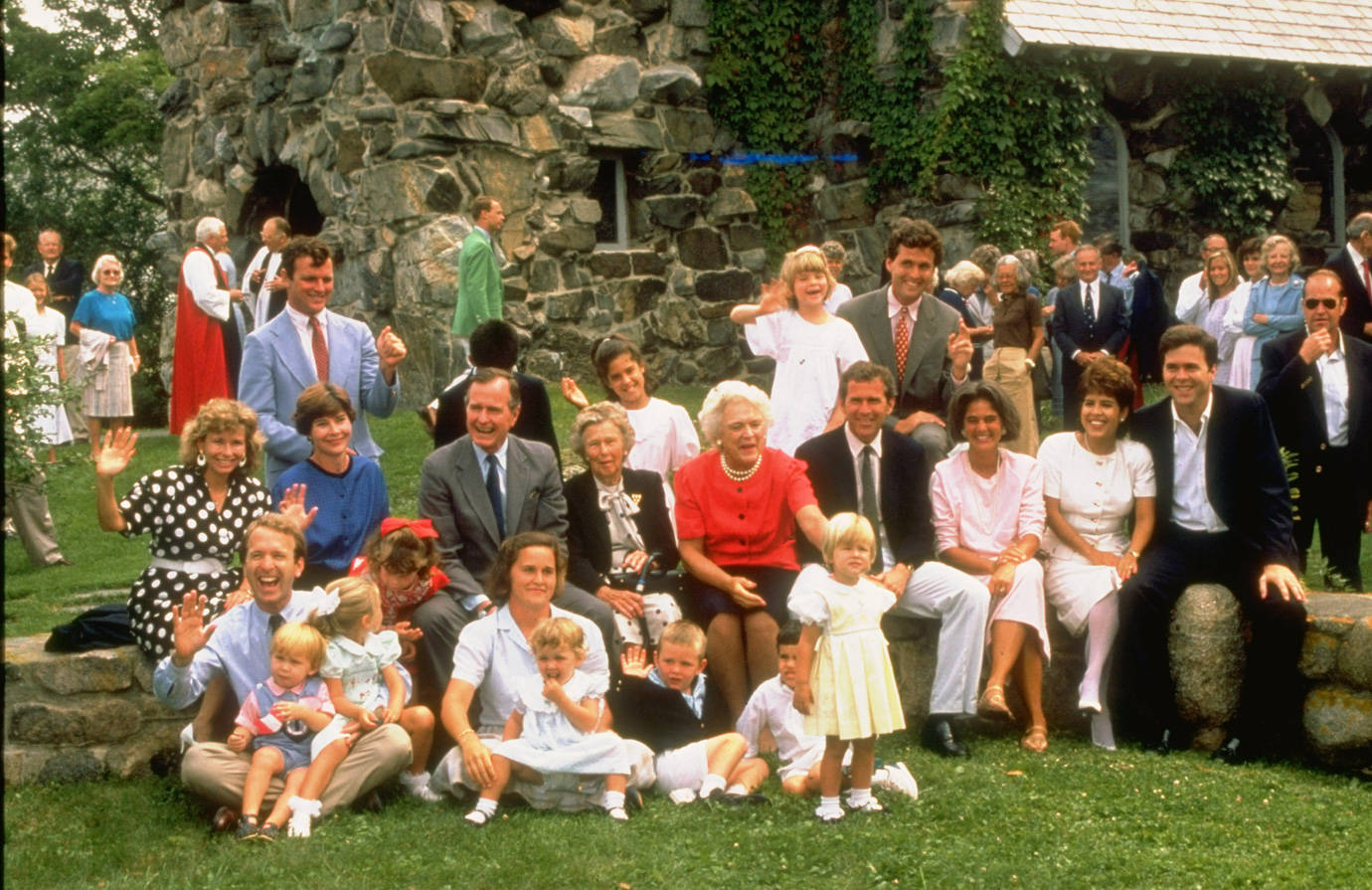 Bush Family In Kennebunkport Maine George Bush Kennebunkport Maine
