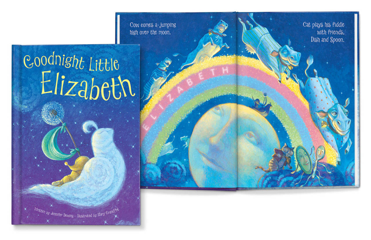 A Custom Children's Book by the Illustrator of the Harry ...