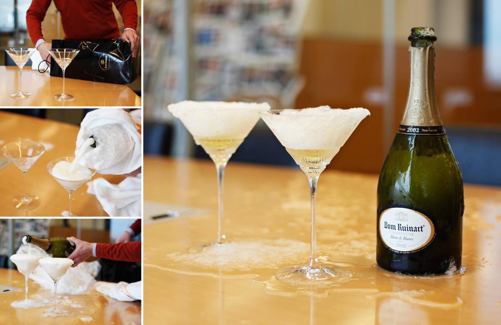 Champagne Slushie!