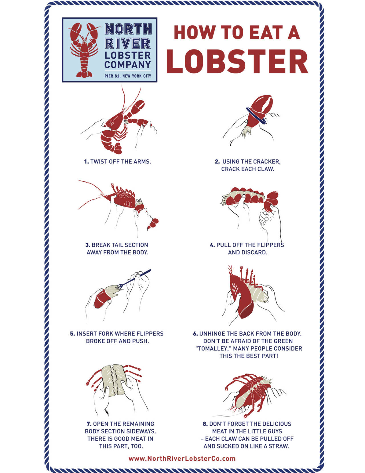 How To Eat A Lobster - Correct Way To Eat A Lobster