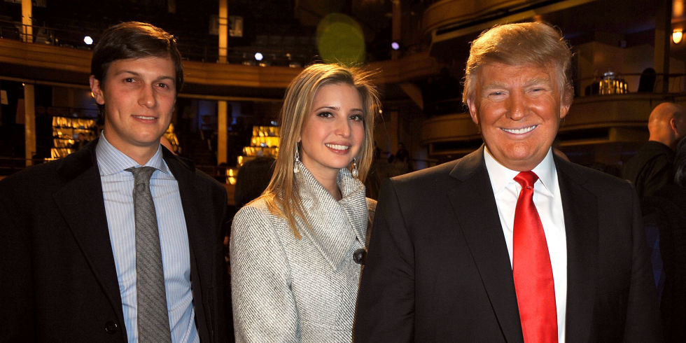 Donald J. Trump's son-in-law was reportedly just named Senior Advisor to the ...